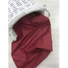 Польский хлопок  50х160см Однотонный цвет бордовый
