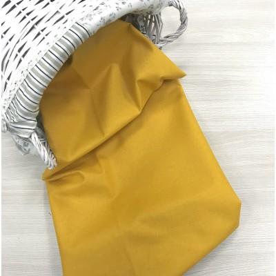 Польский хлопок  50х160см Однотонный цвет горчица