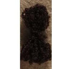 Волосики для куклы Тильда,коричневые
