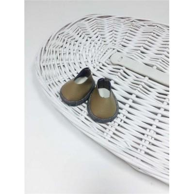 Ботиночки для кукол бежевый цвет 5.5 см