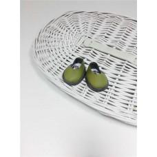 Ботиночки для кукол оливковый цвет 5.5 см