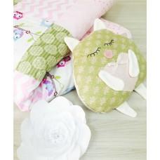 Набор для шитья подушка Котик 30см