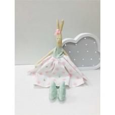 Набор для шитья Зайка Софи мятно -розовый цвет