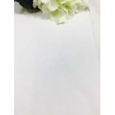 Хлопковая ткань Польша 50*160см Однотонная белая