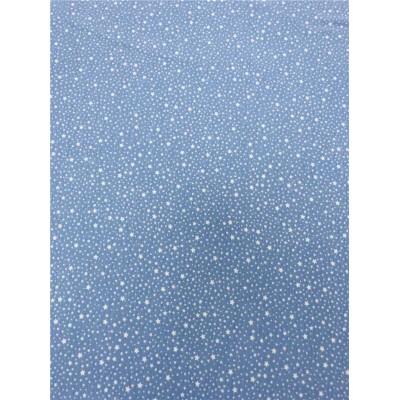 Трикотаж звезды на голубом , рибана 50*180см